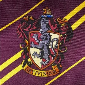 Harry Potters men tie with harry potters logos